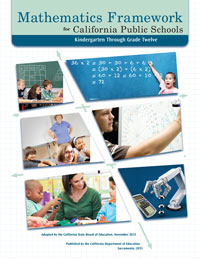 mathematics framework book cover